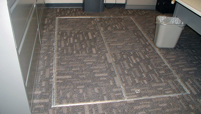Type T-Carpet or Composition Flooring 1T-1